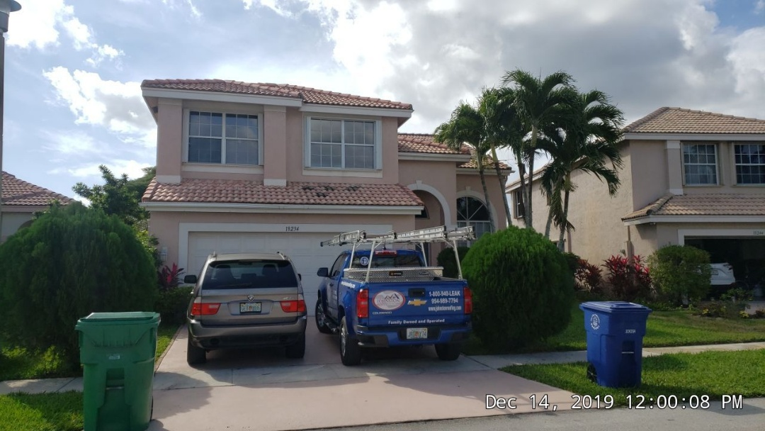 Sunrise, FL - Roof leak repair estimate in Sunrise, FL by Mike Wilde of Earl Johnston Roofing