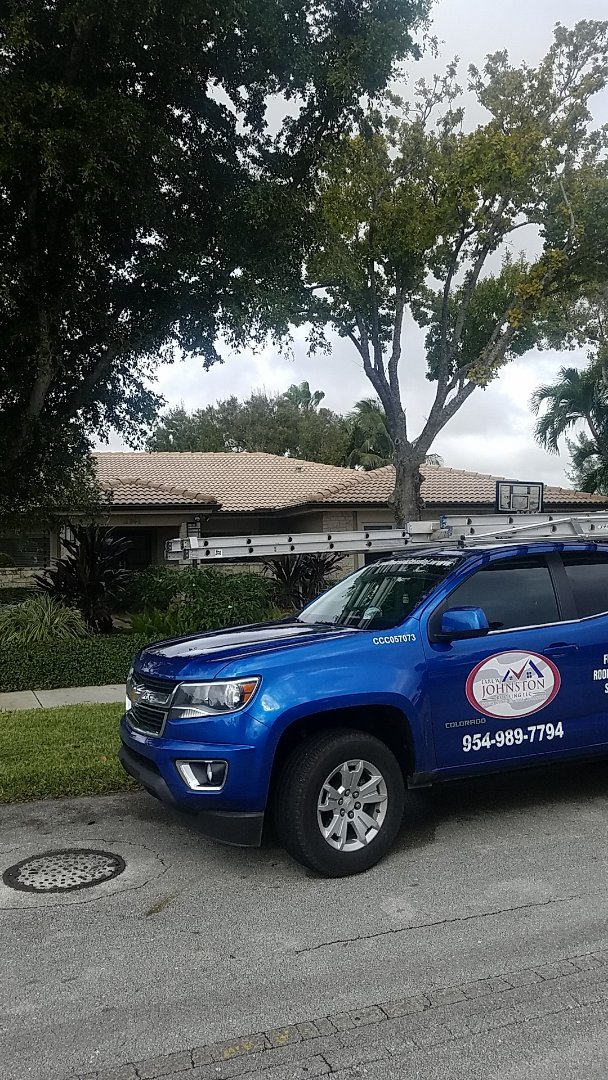 Miami Shores, FL - Tile roof leak repair estimate by Aj from Earl Johnston Roofing Company
