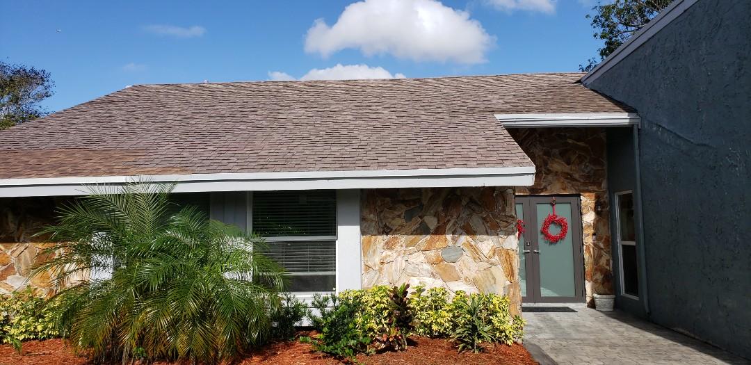Plantation, FL - Shingle roof leak repair estimate in Plantation, FL by Mike Wilde of Earl Johnston Roofing