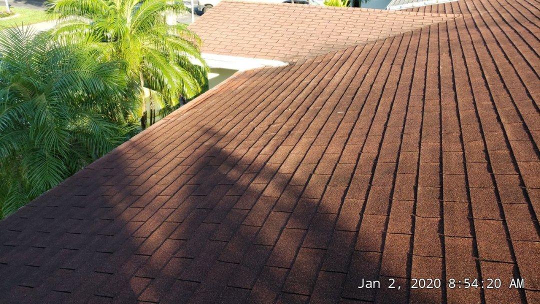 Pembroke Pines, FL - Shingle roof leak repair estimate in Pembroke Pines Florida by Mike Wilde of Earl Johnston Roofing