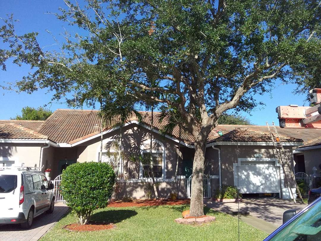 Pembroke Pines, FL - Roof repair in Sunrise