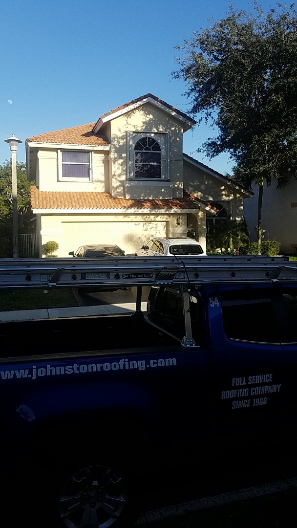 Lighthouse Point, FL - Tile roof leak repair estimate by Aj from Earl Johnston Roofing Company