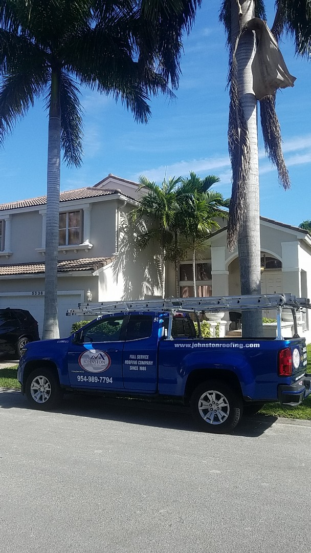 Fort Lauderdale, FL - Tile roof leak repair estimate by Aj from Earl Johnston Roofing Company