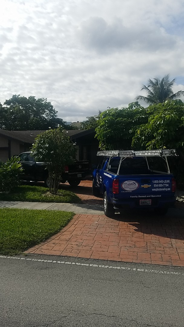 Miami, FL - Gaf timberline HD shingles reroof estimate by Aj from Earl Johnston Roofing Company