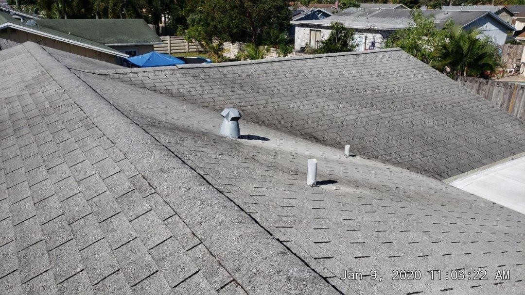 Lauderhill, FL - Gaf Timberline hd shingle re-roof estimate in Lauderhill  ,FL by Mike Wilde of Earl Johnston Roofing