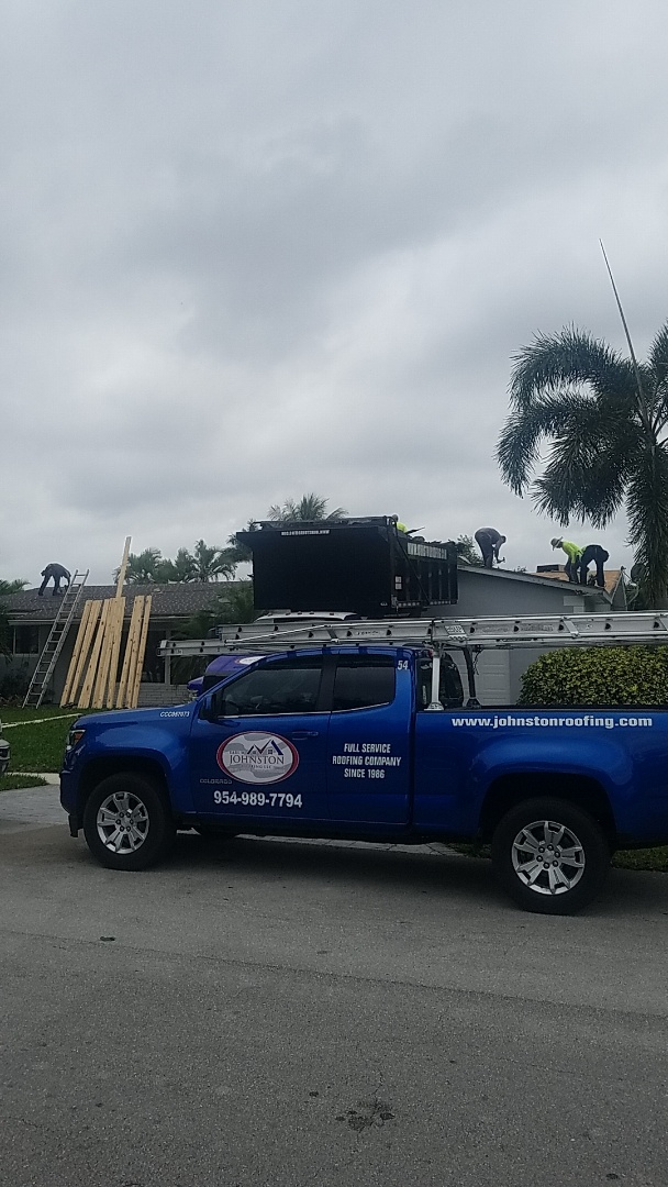 Hollywood, FL - Shingle roof tearoff by Earl Johnston Roofing Company