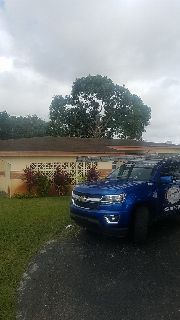 Dania Beach, FL - GAF timberline HD shingles golden pledge warranty estimate by Aj from Earl Johnston Roofing Company
