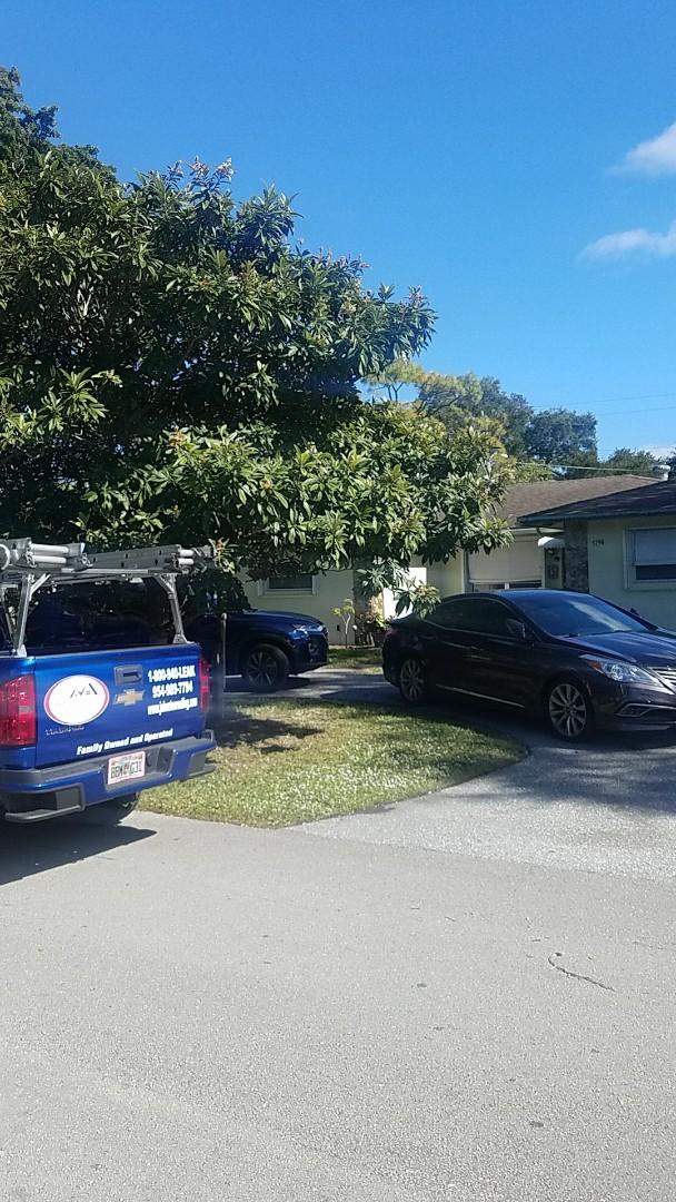 Tamarac, FL - Shingle roof leak repair estimate by Aj from Earl Johnston Roofing Company