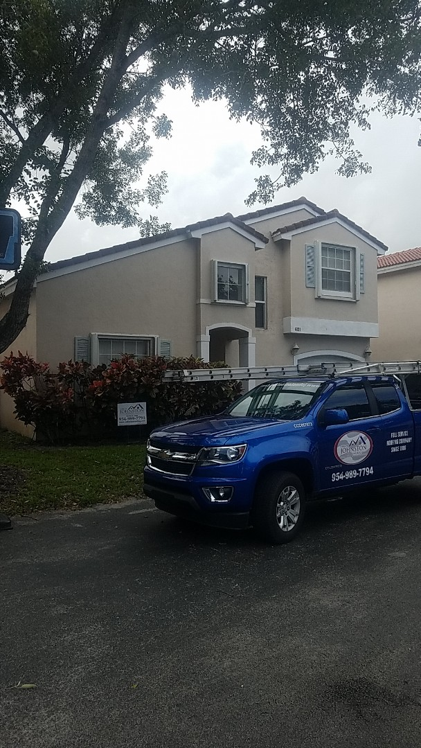 Coconut Creek, FL - Tile roof replacement estimate by Aj from Earl Johnston Roofing Company