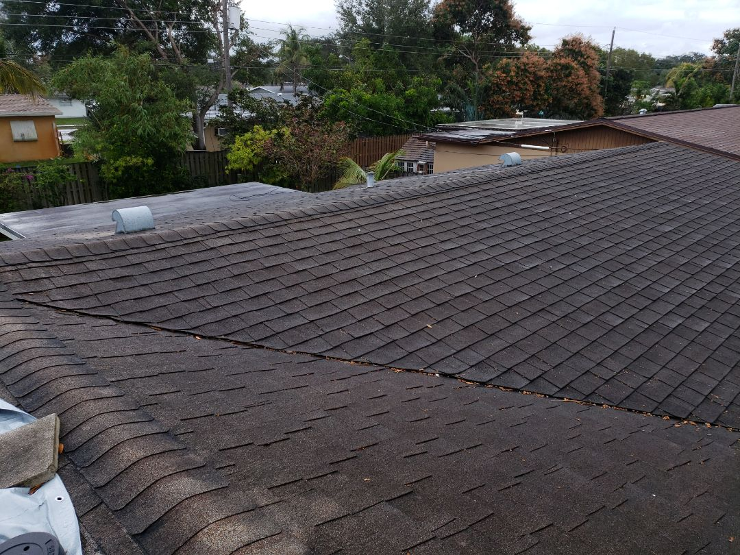 Hollywood, FL - Gaf Timberline hd shingle re-roof estimate in Hollywood,FL by Mike Wilde of Earl Johnston Roofing