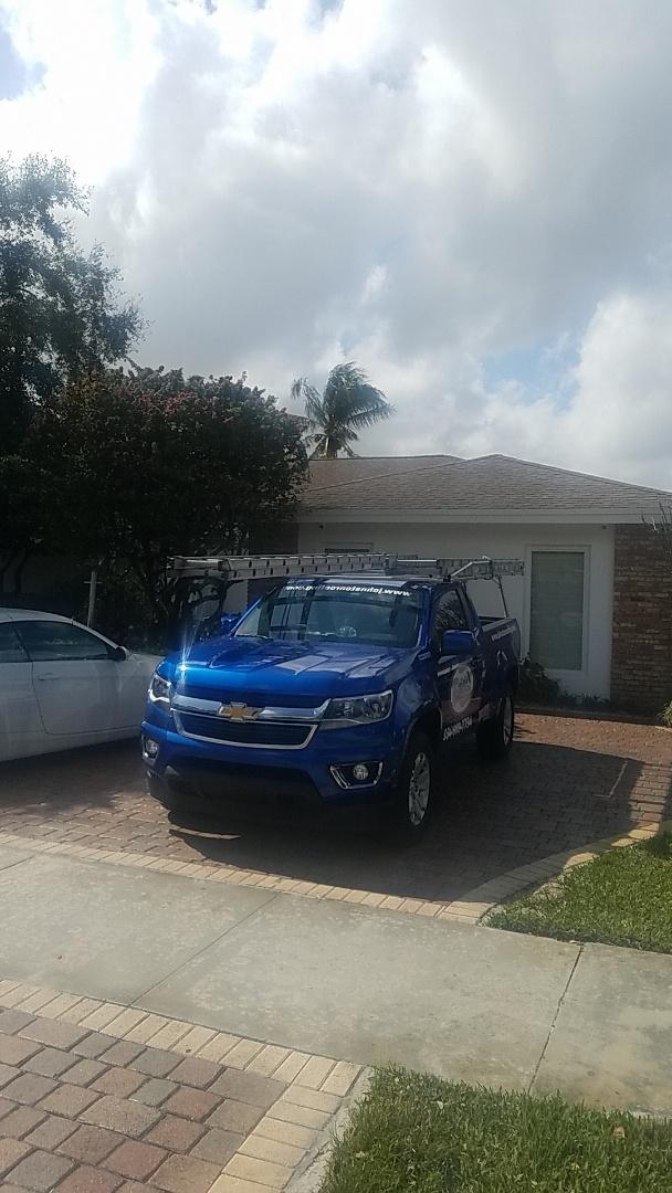 North Miami Beach, FL - Shingle roof leak repair estimate by Aj from Earl Johnston Roofing Company