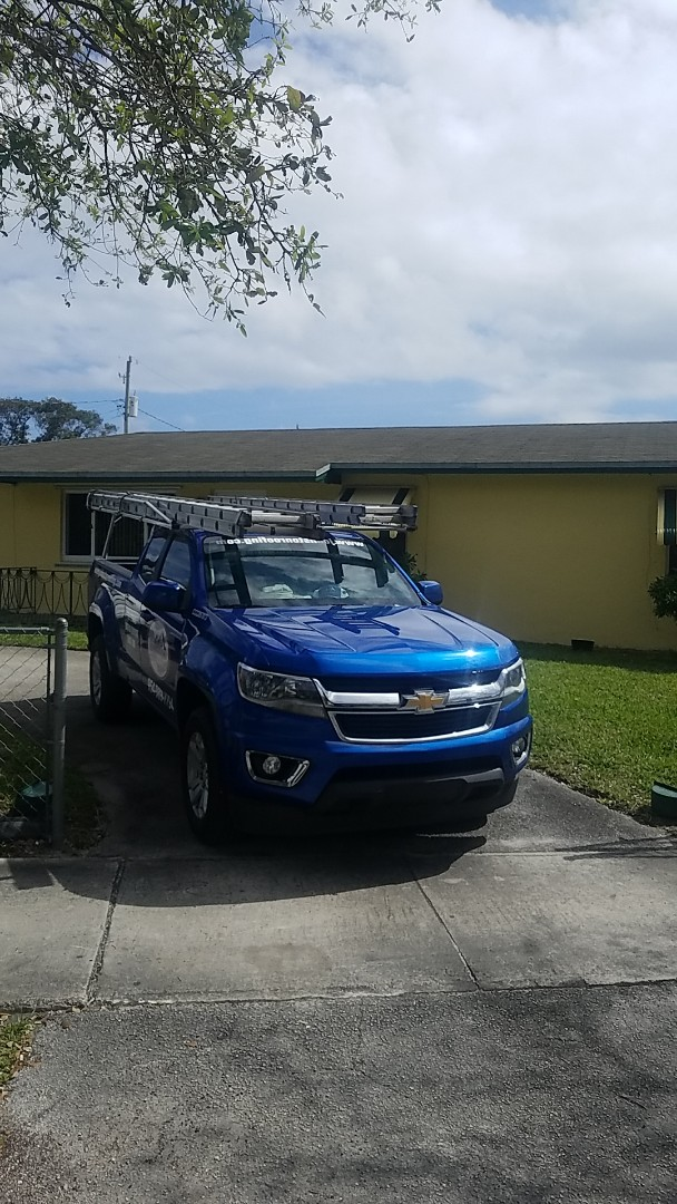 Hallandale Beach, FL - Shingle roof repair estimate by Aj from Earl Johnston Roofing Company