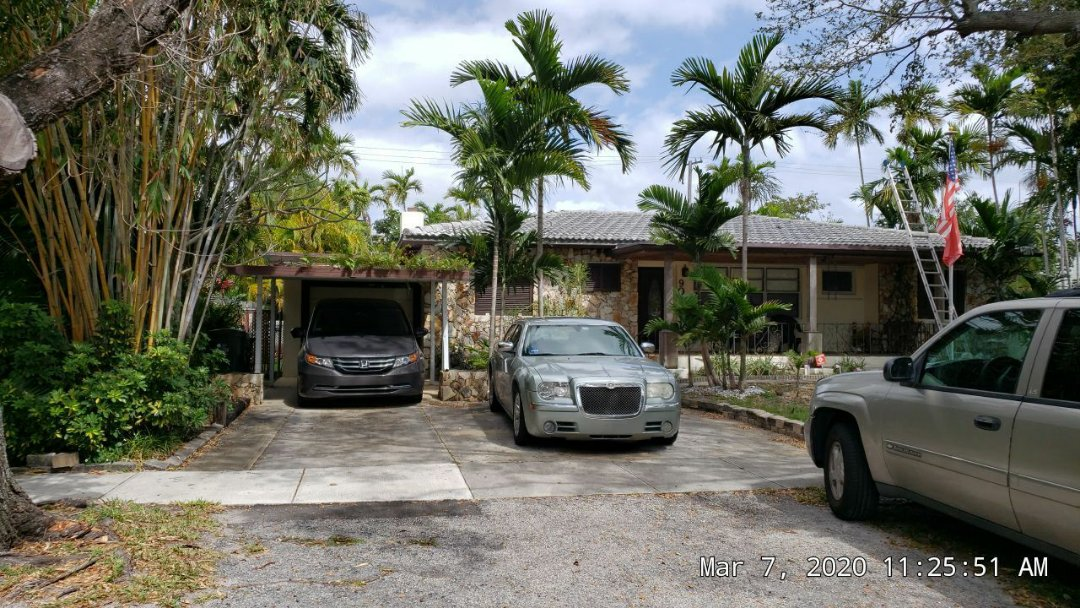 Hallandale Beach, FL - Eagle Malibu tile and TPO flat reroof estimate in hallandale beach, FL by Mike Wilde of Earl Johnston Roofing