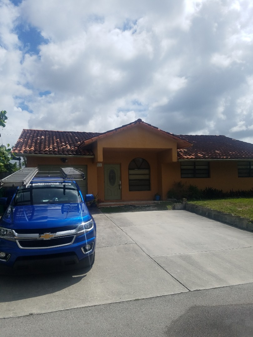Miramar, FL - Shingle and tile roof replacement estimate by Aj from Earl Johnston Roofing Company
