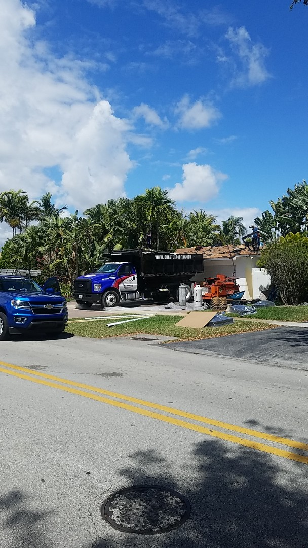 North Miami Beach, FL - Boral estate tiles reroof by Aj from Earl Johnston Roofing Company