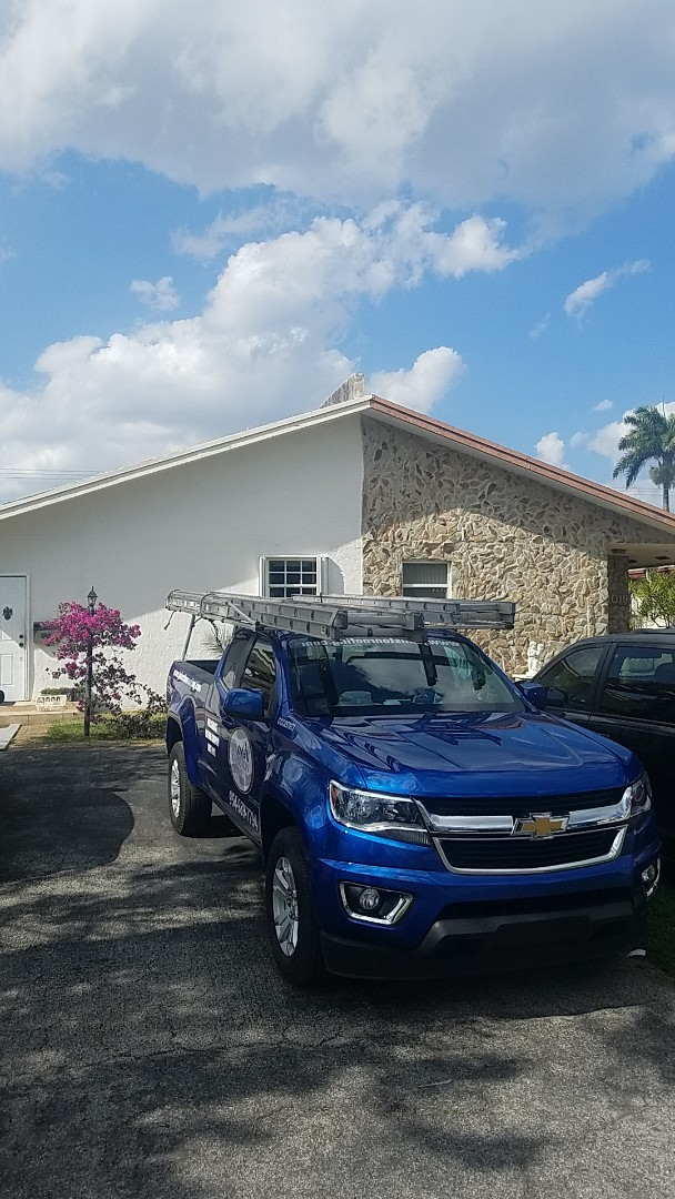 Hallandale Beach, FL - Shingle roof leak repair and replacement estimate by Aj from Earl Johnston Roofing Company