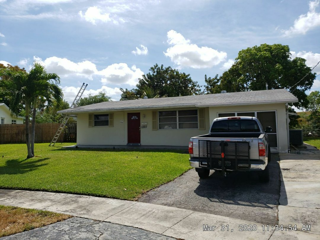 Sunrise, FL - GAF TIMBERLINE HD SHINGLE AND FLAT RE-ROOF ESTIMATE IN SUNRISE,FL BY MIKE WILDE OF EARL JOHNSTON ROOFING