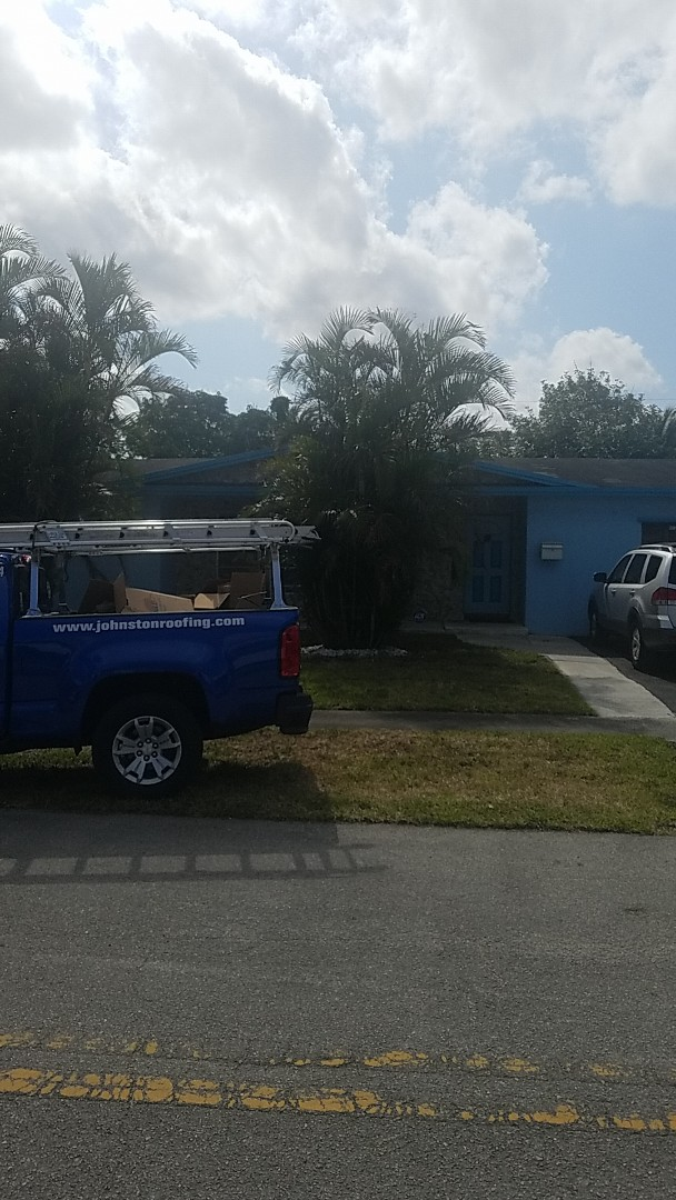 Shingle  roof leak and repair estimate by Aj from Earl Johnston Roofing Company