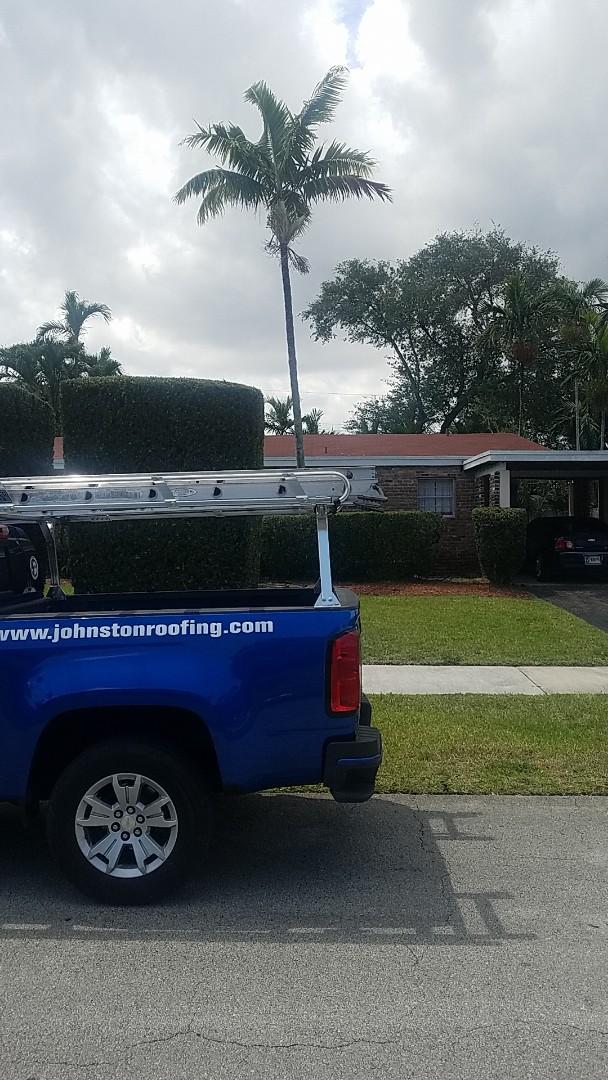 North Miami Beach, FL - Shingle roof repair estimate by Aj from Earl Johnston Roofing Company