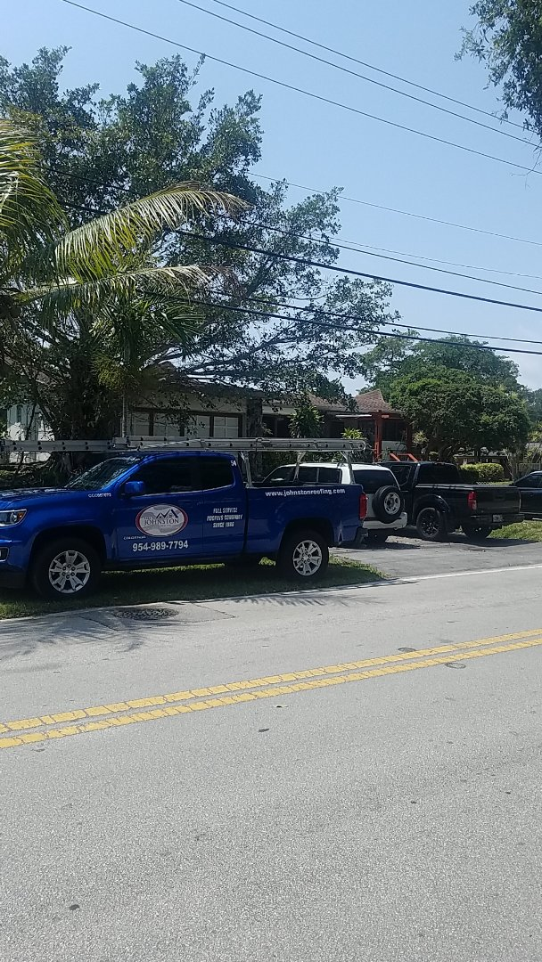 Miami, FL - Gaf Mineral Cap Sheet flat roof replacement estimate by Aj from Earl Johnston Roofing Company