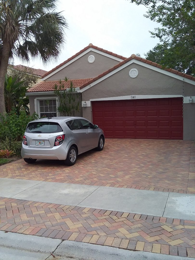 Plantation, FL - Roof vent repair in the city of Plantation Florida this repair is being done by Earl W Johnston roofing company Tony and Darnell are your repair technicians