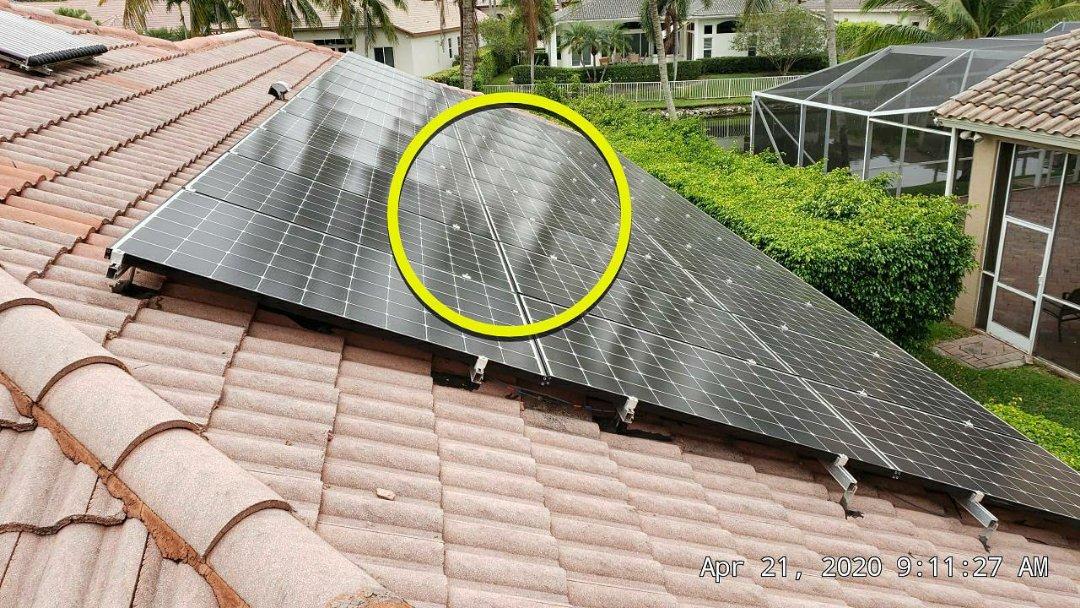 Plantation, FL - Tile roof leak repair estimate in Plantation, FL by Mike Wilde of Earl Johnston Roofing