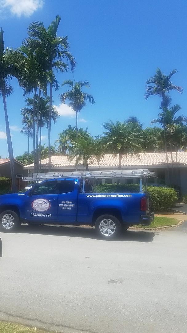 Miami, FL - Boral estate tiles reroof estimate by Aj from Earl Johnston Roofing Company