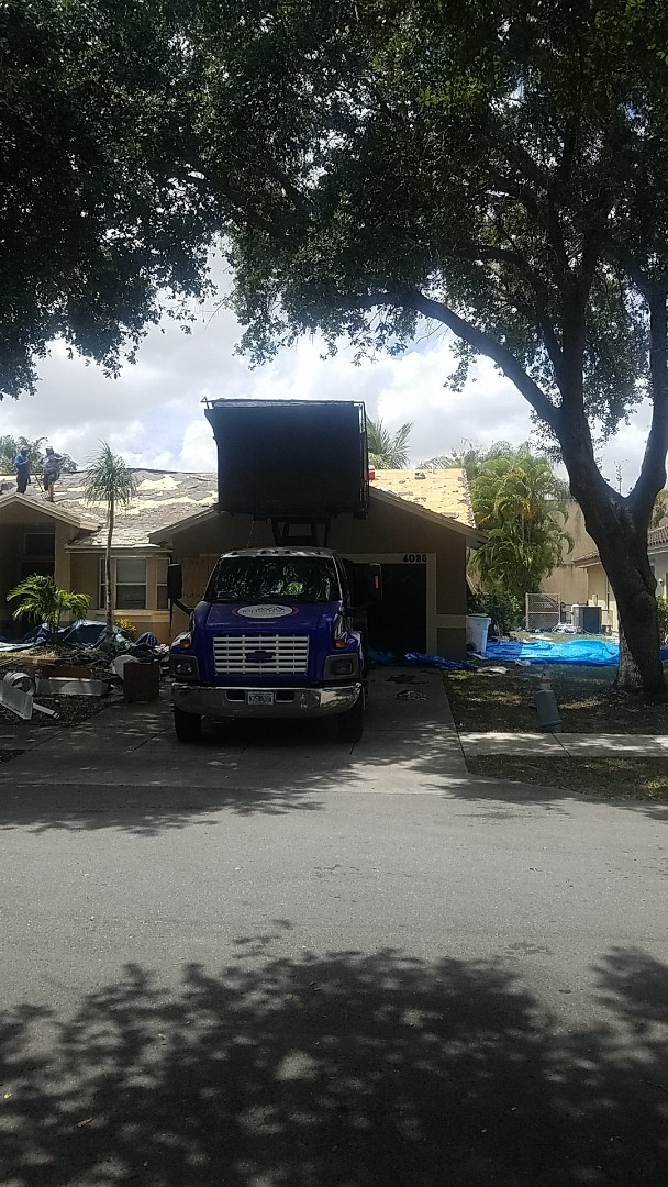 Coconut Creek, FL - Boral Tile roof tearoff by Earl Johnston Roofing Company