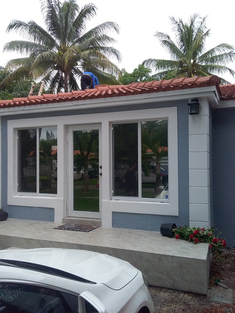 Miami Shores, FL - Fix tile roof by Oliver, Duane, ely, and Alexis from Earl W Johnston Roofing