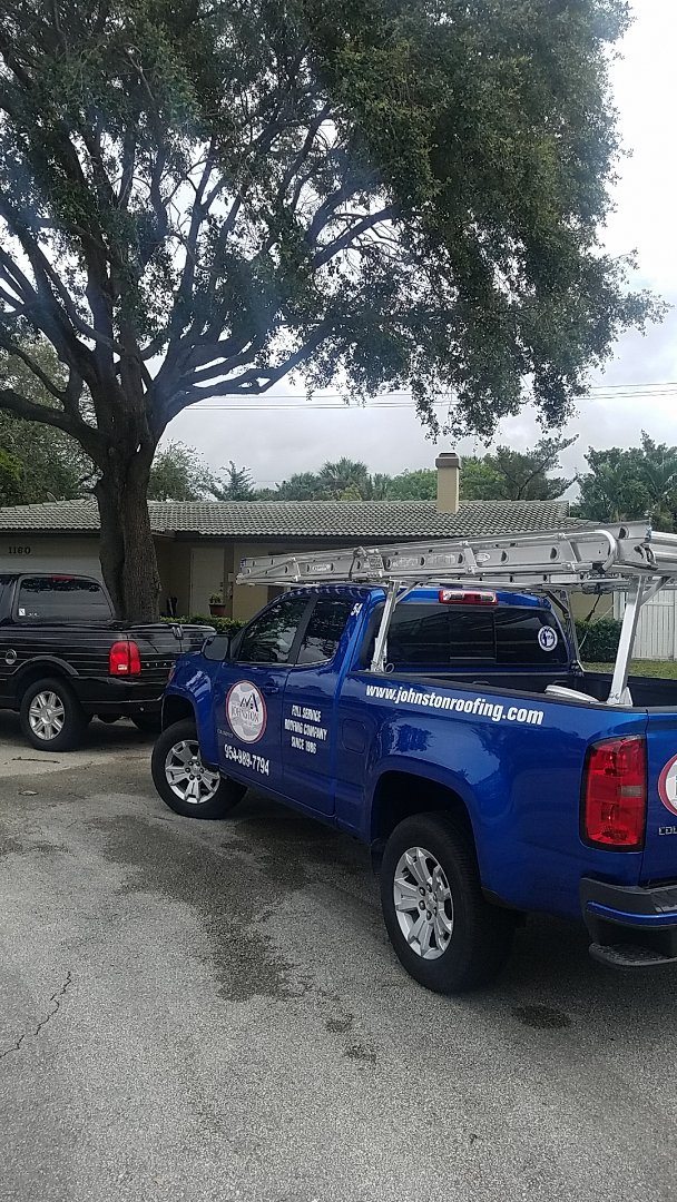 Plantation, FL - Tile roof leak repair estimate by Aj from Earl Johnston Roofing Company