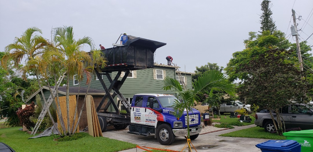 Sunrise, FL - GAF TIMBERLINE HD SHINGLE RE-ROOF IS STARTING TODAY IN SUNRISE,FL BY MIKE WILDE OF EARL JOHNSTON ROOFING