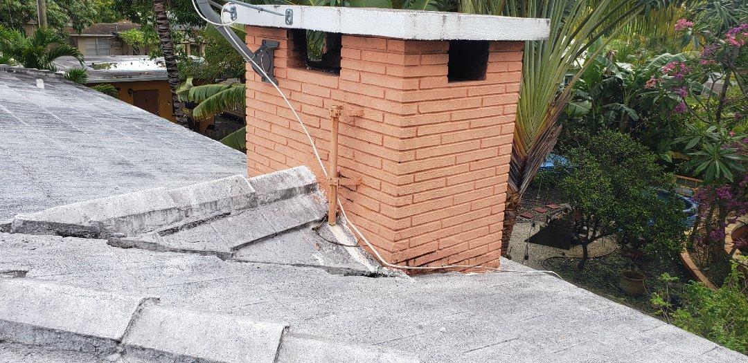 Miramar, FL - Tile roof leak repair estimate in Miramar, FL by Mike Wilde of Earl Johnston Roofing
