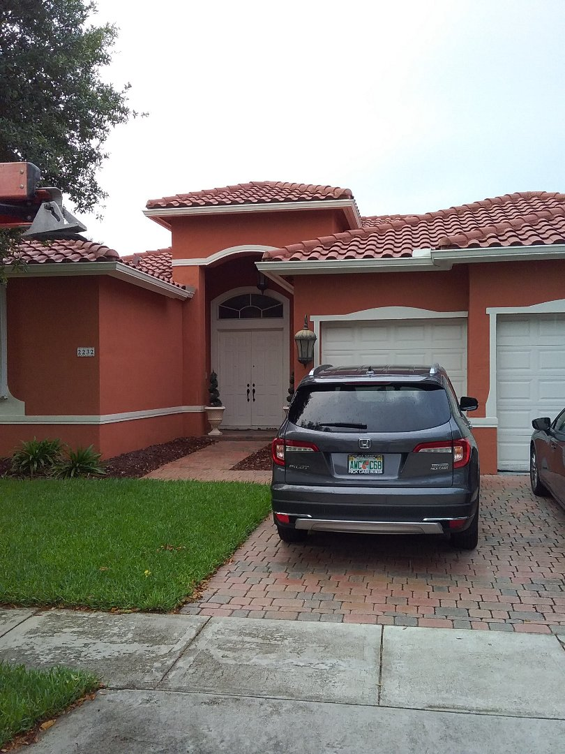 Miramar, FL - Repair tile roof by Oliver and Alexis from Earl W Johnston Roofing