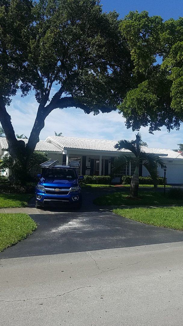 Hollywood, FL - Boral estate tiles reroof estimate by Aj from Earl Johnston Roofing Company