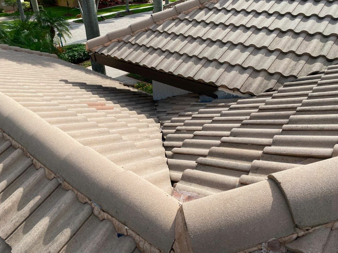 Weston, FL - Tile roof leak repair estimate in Weston,FL by Mike Wilde of Earl Johnston Roofing