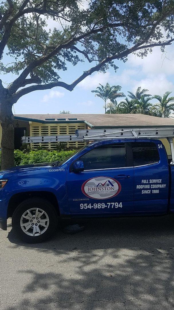 Miami, FL - Shingle roof leak repair estimate by Aj from Earl Johnston Roofing Company