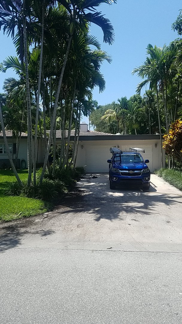 Miami Shores, FL - Flat roof replacement estimate by Aj from Earl Johnston Roofing Company