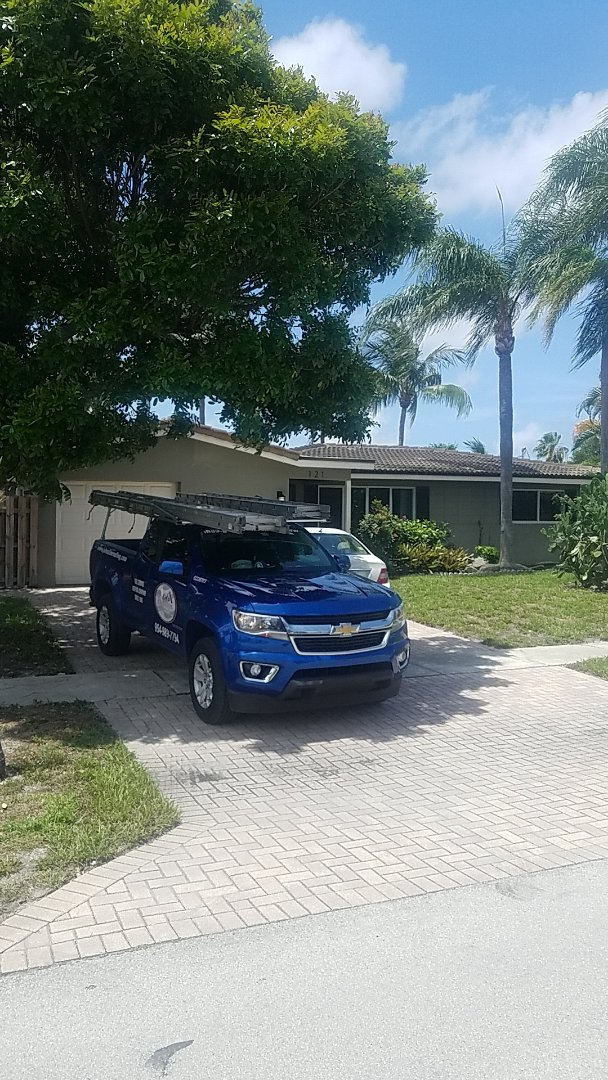 Pompano Beach, FL - Tile reroof  estimate by Aj from Earl Johnston Roofing Company