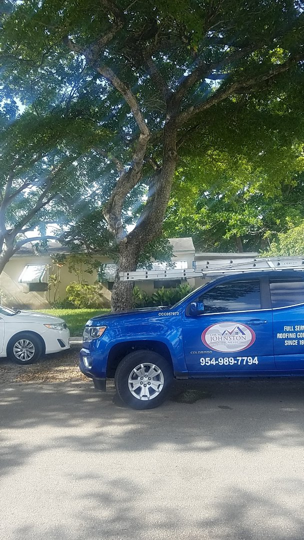 North Miami, FL - Gaf timberline HDZ shingles roof replacement estimate by Aj from Earl Johnston Roofing Company