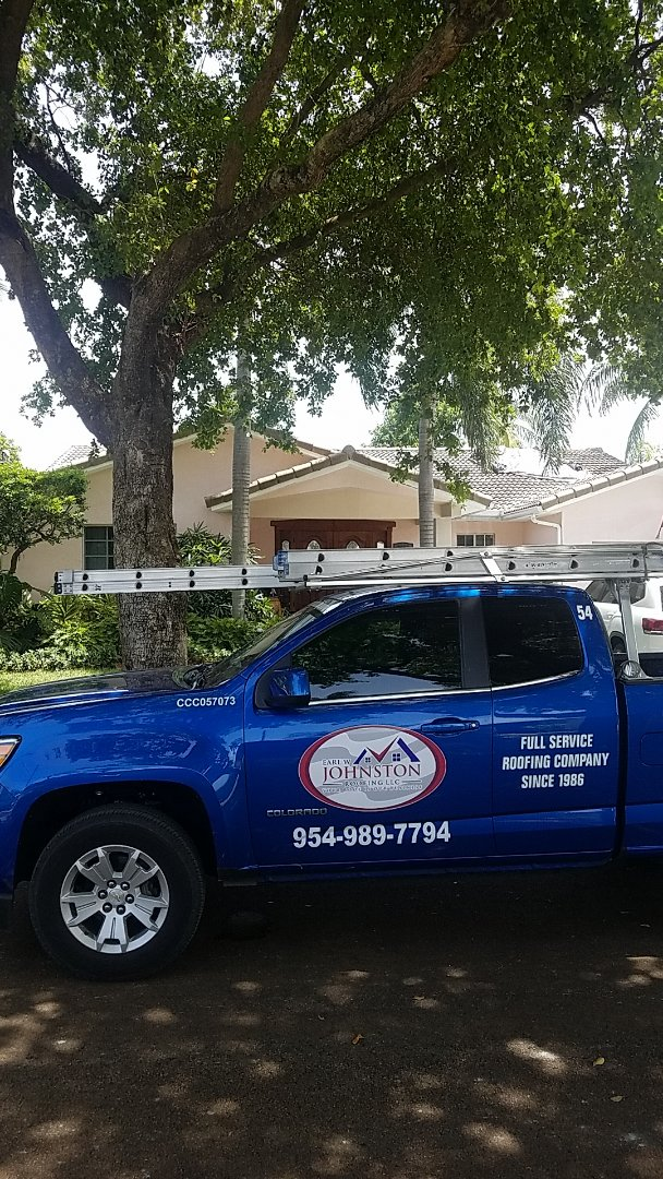 North Miami, FL - Tile roof replacement estimate by Aj from Earl Johnston Roofing Company
