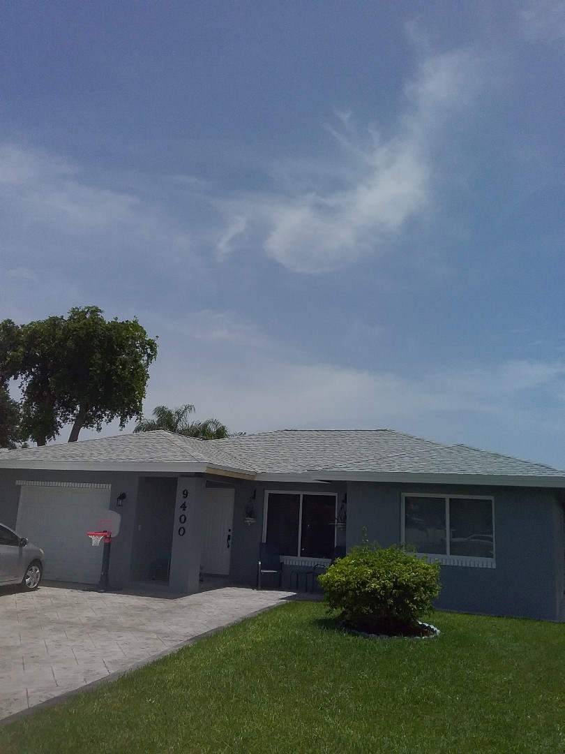 Fascia repair in Tamarac by Duane and Israel from Earl W Johnston roofing