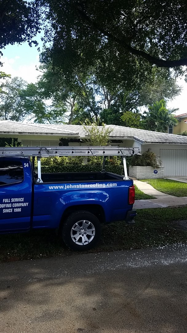Coral Gables, FL - Tile roof leak repair estimate by Aj from Earl Johnston Roofing Company