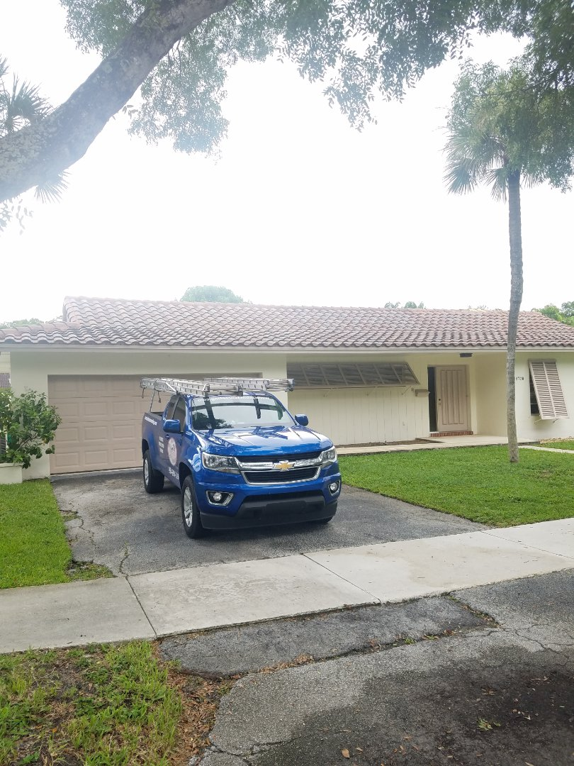 Miami Lakes, FL - Eagle Malibu tiles reroof estimate by Aj from Earl Johnston Roofing Company