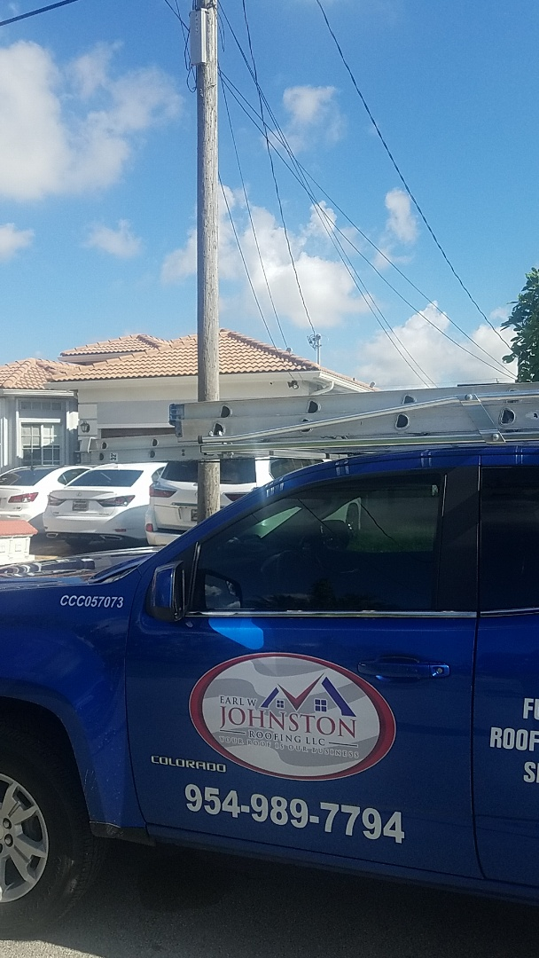 West Park, FL - Tile roof leak repair estimate by Aj from Earl Johnston Roofing Company
