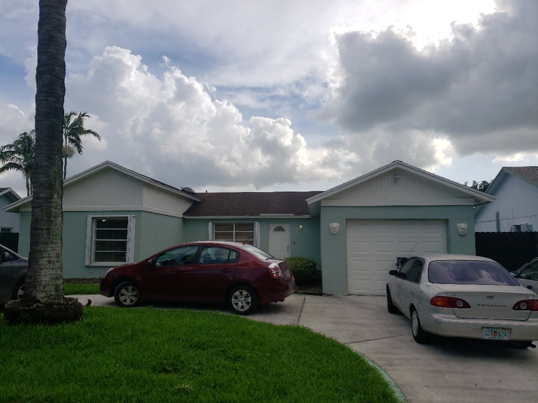 Miami, FL - Shingle ReRoof Estimate Earl W Johnston Roofing Eric Suarez 954-989-7794