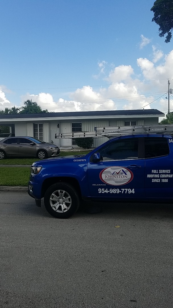 Margate, FL - Gaf timberline HDZ shingles roof replacement estimate by Aj from Earl Johnston Roofing Company