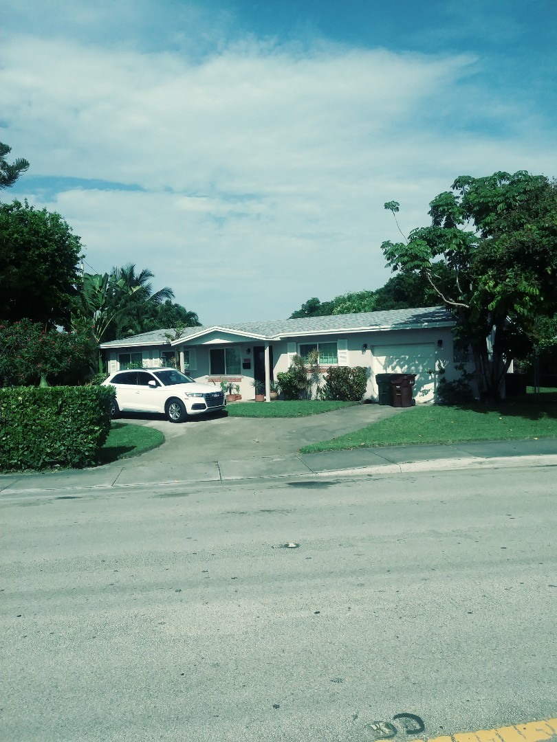 Hialeah, FL - Finished gaf timberline shingle and flat roof by earl w Johnston roofing llc