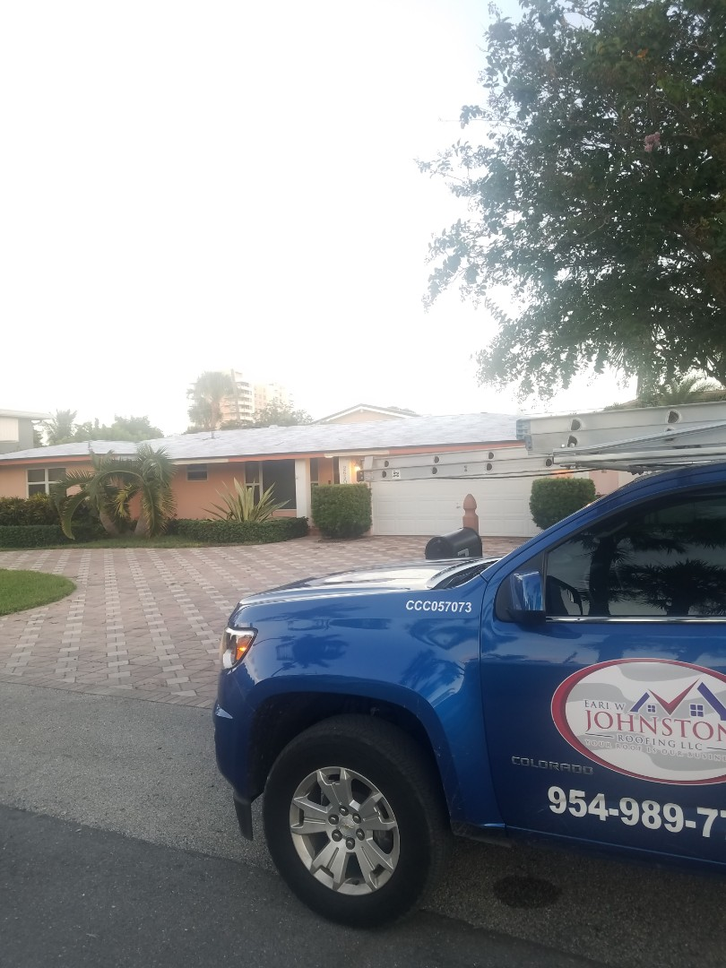 Lighthouse Point, FL - Tile roof tearoff phase by Earl Johnston Roofing Company #NationalRoofingWeek