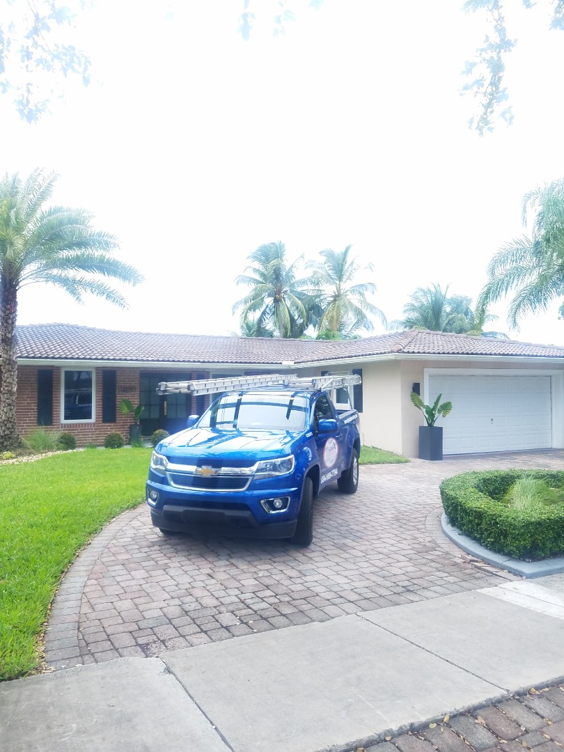 Miami Lakes, FL - Tile roof leak repair estimate by Aj from Earl Johnston Roofing Company