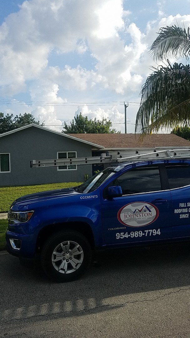 Lauderhill, FL - Gaf timberline HDZ shingles roof replacement estimate by Aj from Earl Johnston Roofing Company